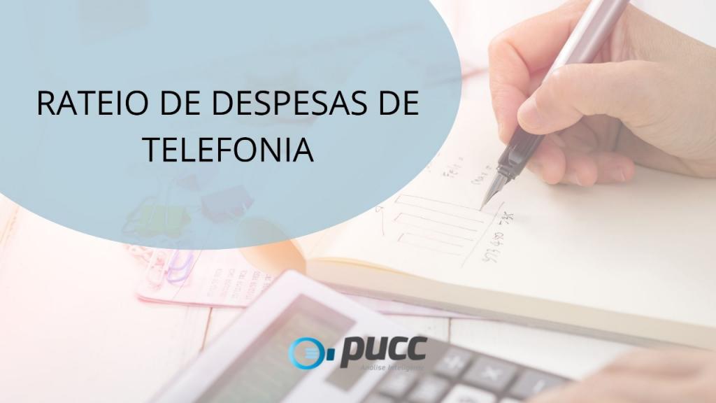 RATEIO DE DESPESAS DE TELEFONIA