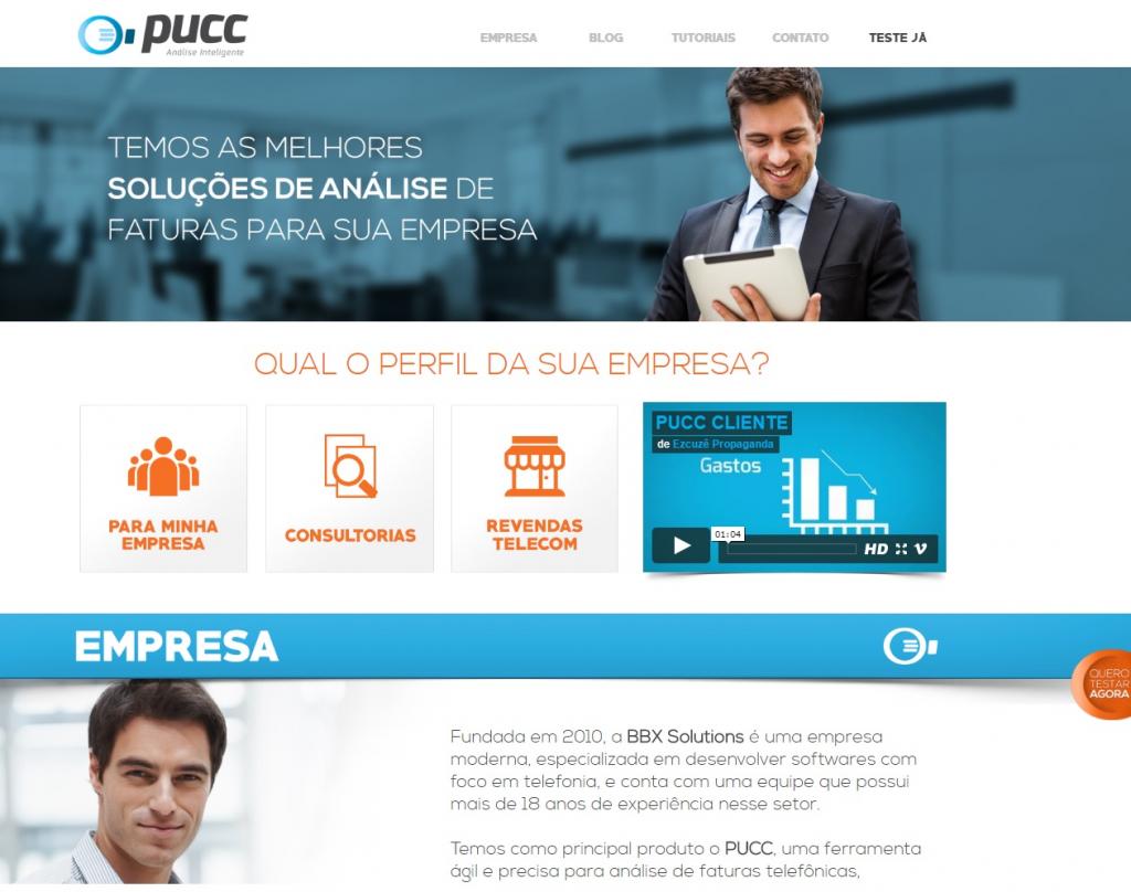 PUCC ganha novo site!